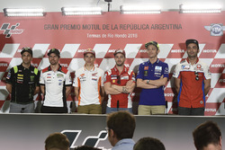 Johann Zarco, Monster Yamaha Tech 3, Cal Crutchlow, Team LCR Honda, Marc Márquez, Repsol Honda Team, Andrea Dovizioso, Ducati Team, Valentino Rossi, Yamaha Factory Racing, Danilo Petrucci, Pramac Racing