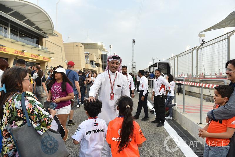 Shaikh Salman bin Isa Al Khalifa, Bahrain International Circuit CEO
