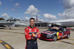 Jamie Whincup , Triple Eight Race Engineering Holden and a Royal Australian Air Force F/A-18A Horne