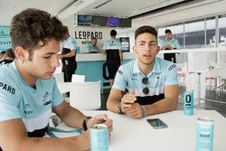 Enea Bastianini and Lorenzo Dalla Porta speak to Motorsport.com journalist Matteo Nugnes