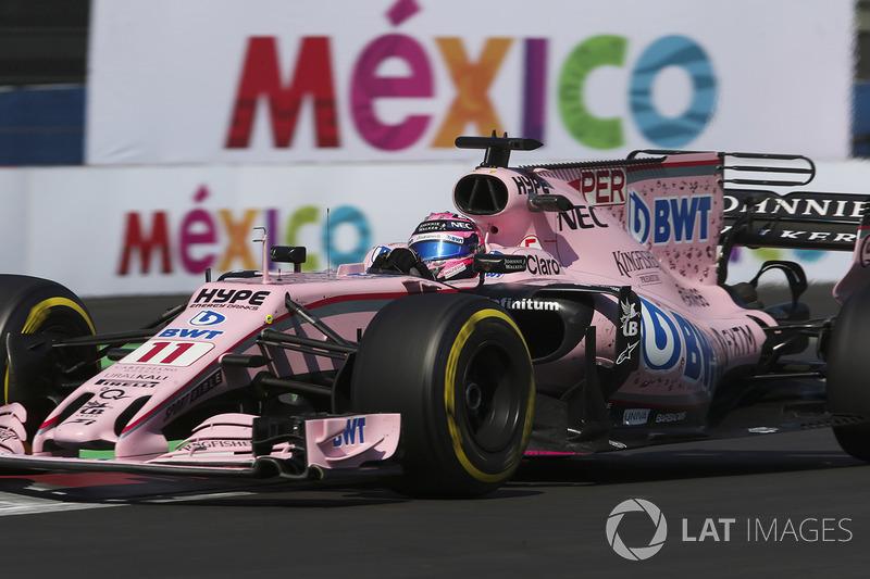 9º Sergio Pérez, Sahara Force India F1 VJM10