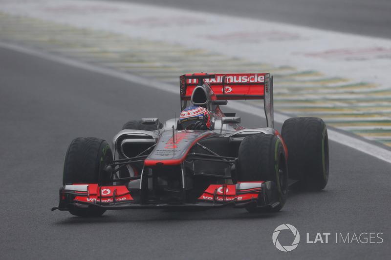 Button conquistou vitórias em seus três primeiros anos de McLaren, tendo como destaque o vice em 2011