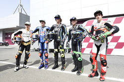 Andrea Migno, Aspar Team, Marco Bezzecchi, MC Saxoprint Nicolo Bulega, Sky Racing Team VR46, Dennis Foggia, Sky Racing Team VR46, BNiccolo Antonelli, SIC58 Squadra Corse