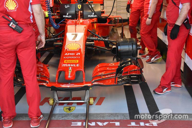 Переднее крыло Ferrari SF71H (машина Райкконена)
