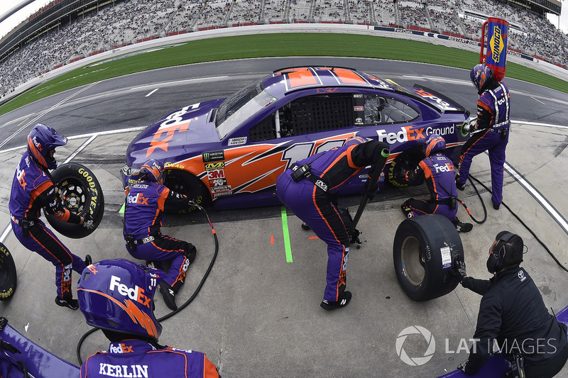 5. Denny Hamlin, Joe Gibbs Racing, FedEx Ground Toyota Camry