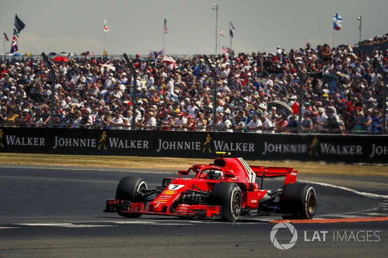 Ferrari hield geen rekening met de strategische oproep van Raikkonen. De Fin reageerde laconiek.