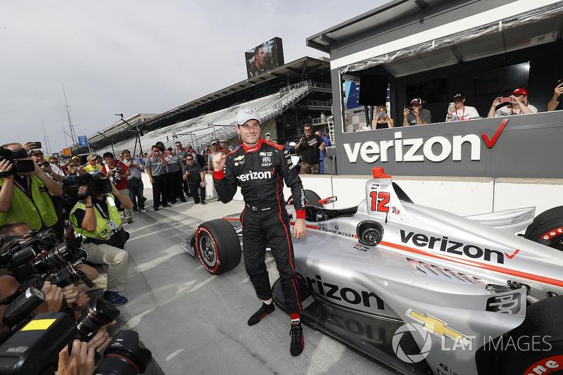 Ganador de la pole position Will Power, Team Penske Chevrolet