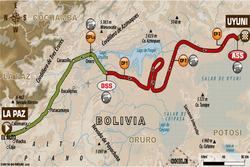 Етап 7: Ла-Пас - Уюні