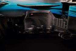 Mercedes AMG F1 W08: Windabweiser