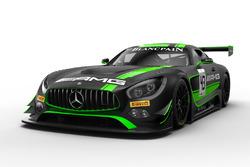 #43 Mercedes-AMG Team Strakka Racing Mercedes-AMG GT3: Maximilian Buhk, Maximilian Götz, Alvaro Parente