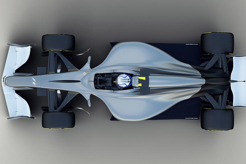 Illustration du concept F1 2021