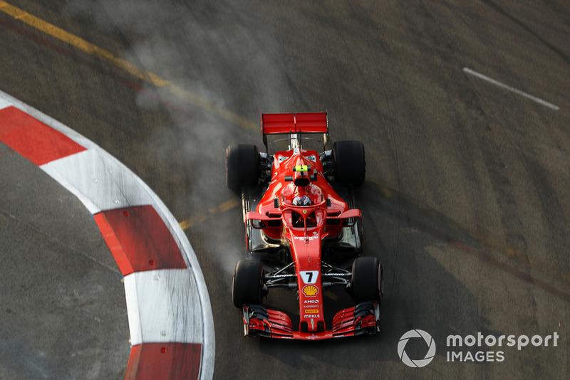 5: Kimi Raikkonen, Ferrari SF71H, 1'36.794