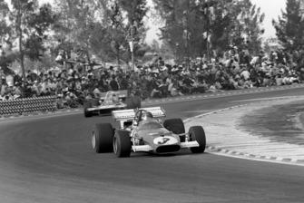 Ganador Jacky Ickx, Ferrari 312B, Jackie Stewart, Tyrrell 001