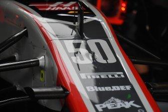 Haas F1 Team VF-18 nose