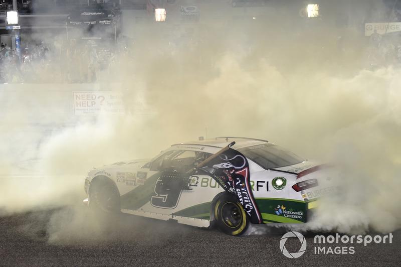 Tyler Reddick, JR Motorsports, Chevrolet Camaro BurgerFi