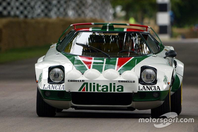 Alitalia и Lancia Stratos
