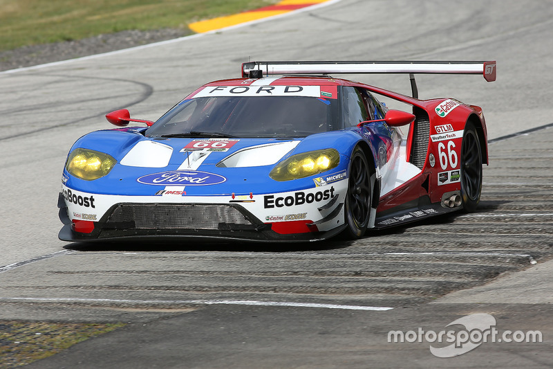 #66 Chip Ganassi Racing Ford GT: Joey Hand, Dirk Müller