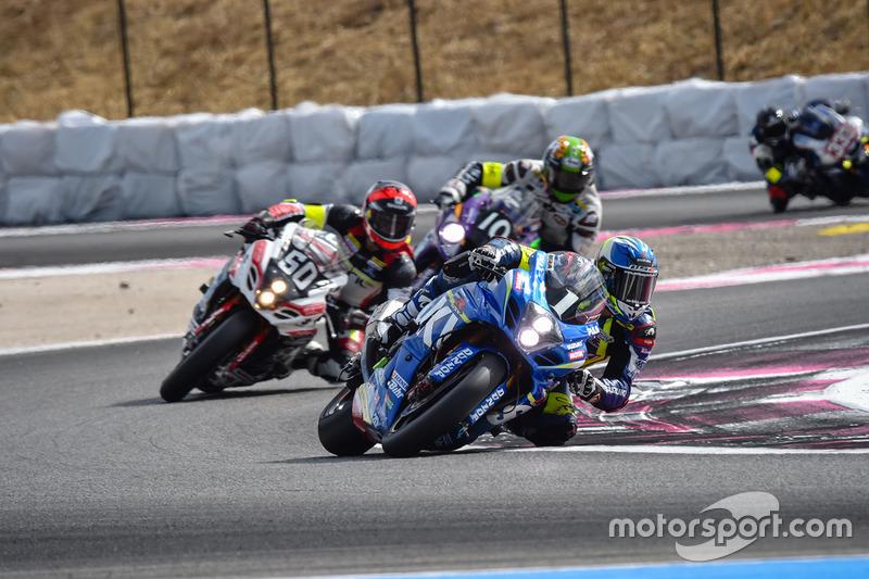 Bol d'Or Le Castellet: #1, Suzuki Endurance Racing Team SERT, Suzuki: Anthony Delhalle, Etienne Masson, Vincent Philippe