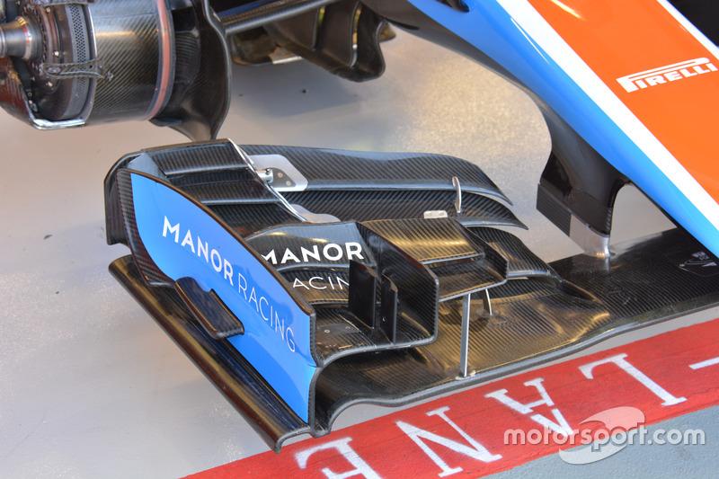 تفاصيل الجناح الأمامي لسيارة مانور إم.آر.تي05