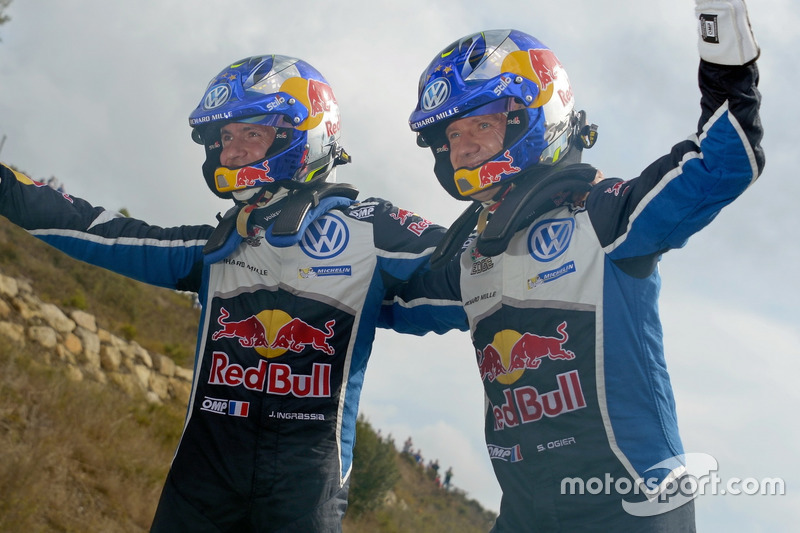 1. Sébastien Ogier, Julien Ingrassia, Volkswagen Polo WRC, Volkswagen Motorsport