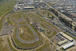 An aerial view of the Killarney International Raceway