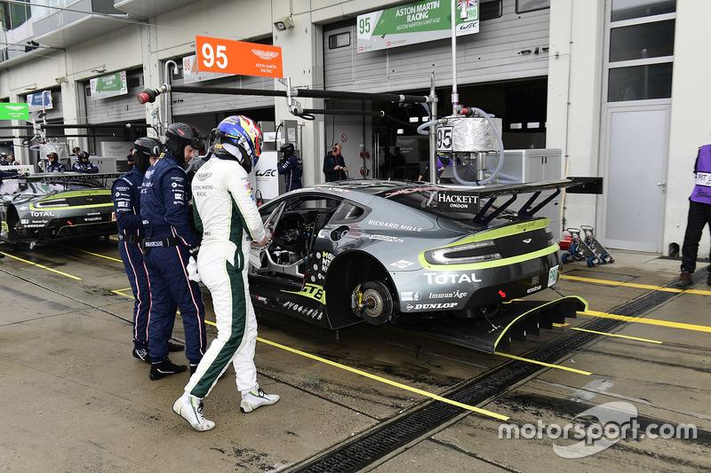 #95 Aston Martin Racing Aston Martin Vantage GTE: Marco Sorensen, Nicki Thiim