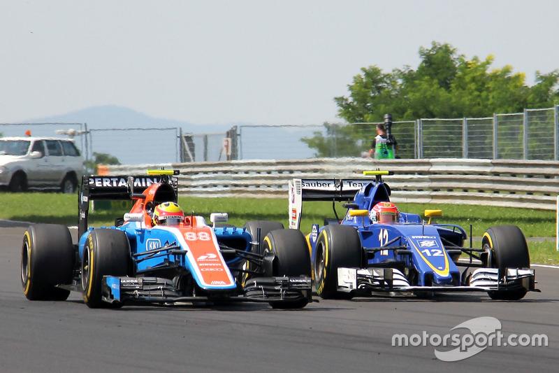 Rio Haryanto, Manor Racing MRT05, Felipe Nasr, Saber C35