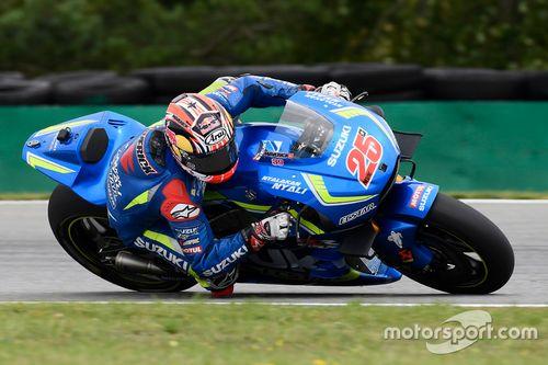 MotoGP-Test in Brünn, August