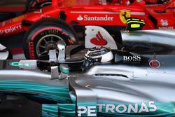Race winner Valtteri Bottas, Mercedes AMG F1 F1 W08  in parc ferme