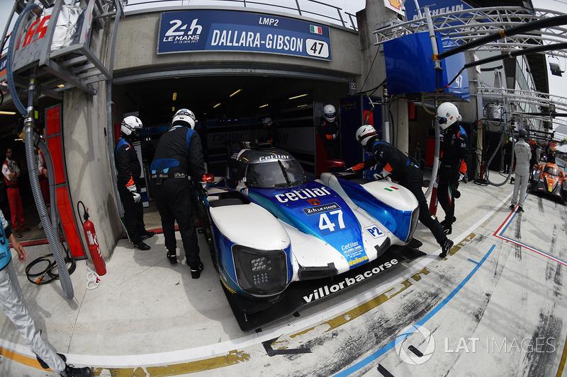 #47 Villorba Corse, Dallara P217 Gibson: Roberto Lacorte, Giorgio Sernagiotto, Andrea Belicchi