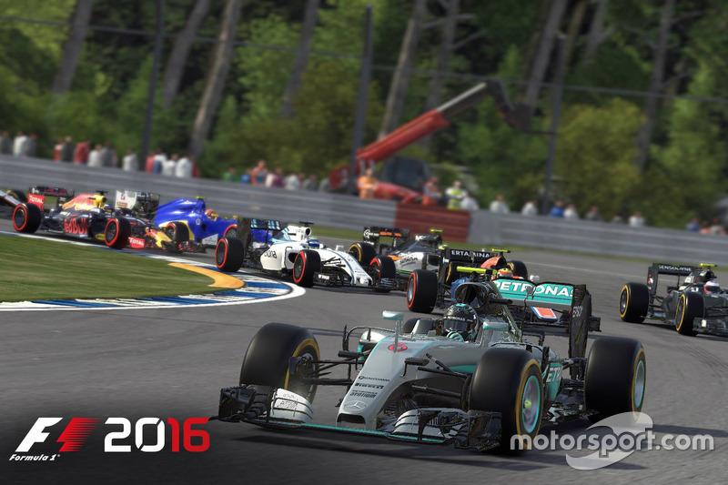 F1 2016 Ekran görüntüleri