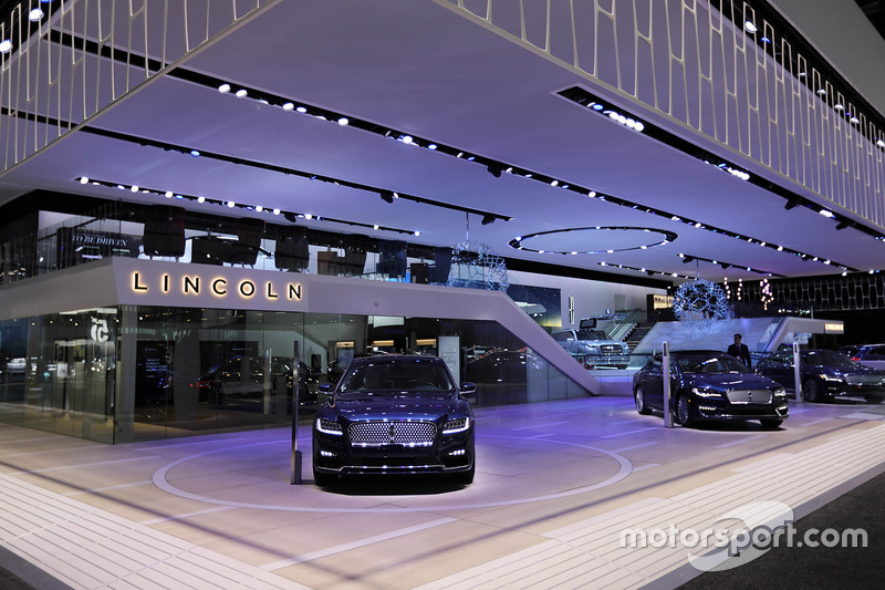 Lincoln Booth At North American International Auto Show Detroit