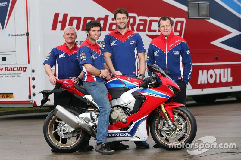John McGuinness and Guy Martin, Honda Racing con el equipo
