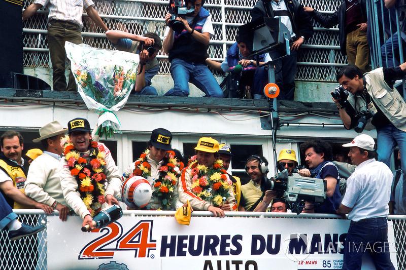 1. John Winter, Paolo Barilla, Klaus Ludwig, Joest Racing
