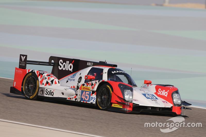 5. LMP2: #45 Manor, Oreca 05 - Nissan: Roberto Merhi, Julien Canal, Roberto Gonzalez