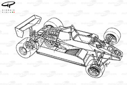 Williams FW08 1982 detailed overview