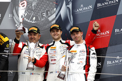 Podium Pro-AM: third place #87 Akka ASP, Mercedes-AMG GT3: Jean-Luc Beaubelique, Jules Gounon, Nico Bastian