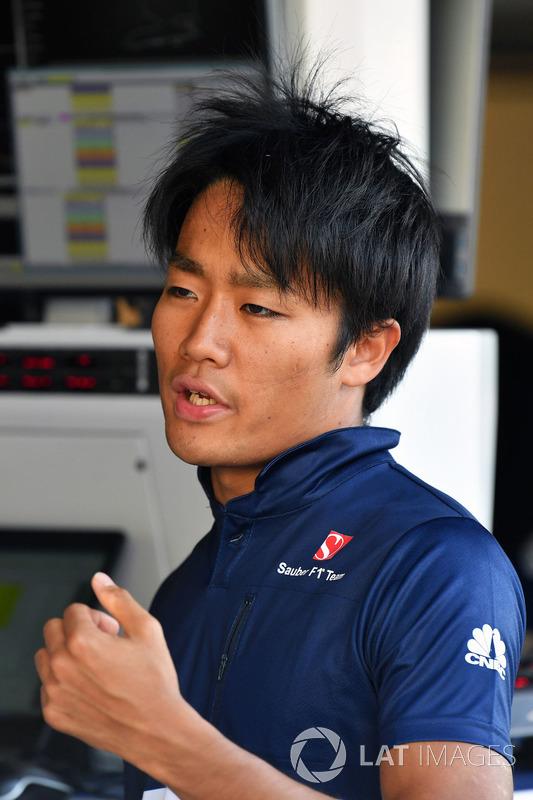 Нобухару Мацусіта, Sauber