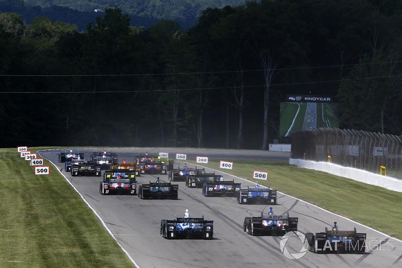 Will Power, Team Penske Chevrolet, Josef Newgarden, Team Penske Chevrolet al inicio