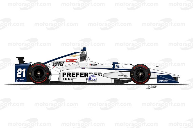 #21 - JR Hildebrand, Ed Carpenter Racing Chevrolet