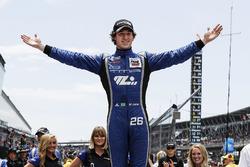 Race winner Matheus Leist, Carlin