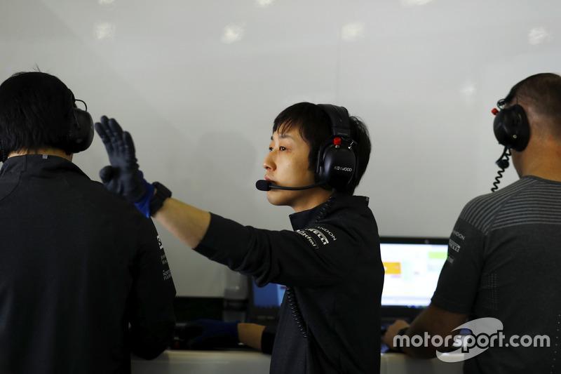 Kenji Nakano, Honda, Chefmechaniker