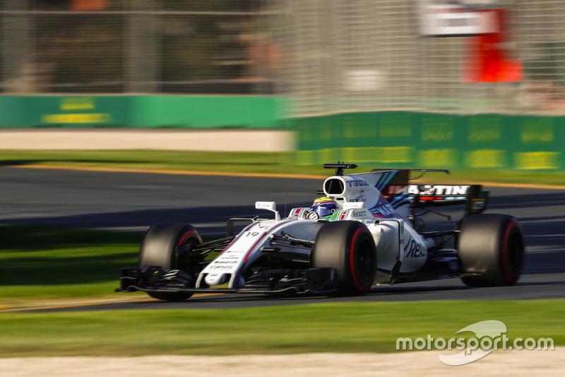 """Massa se destacou na Austrália e no Bahrein, com dois sextos lugares. O brasileiro frequentemente assumia a posição de """"melhor do resto"""", atrás somente de Mercedes, Ferrari e Red Bull."""