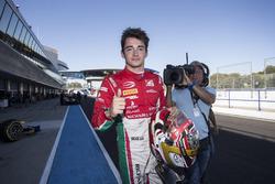 Charles Leclerc, PREMA Powerteam secures pole position