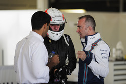 Martin Brundle; Paddy Lowe, Williams; Karun Chandhok