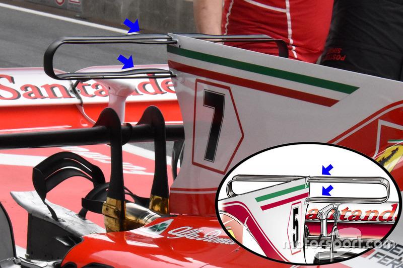 T-wing de la Ferrari SF70H