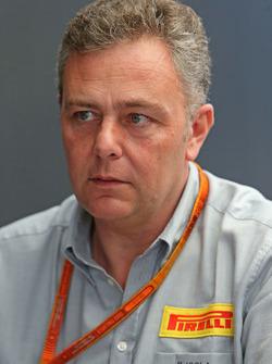 Mario Isola, Pirelli Racing Manager