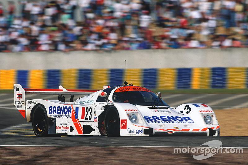 #23 Team Guy Chotard Porsche 962C: Denis Morin, Didier Caradec, Alain Sturm