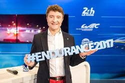 Bruno Vandestick, speaker des 24 Heures du Mans