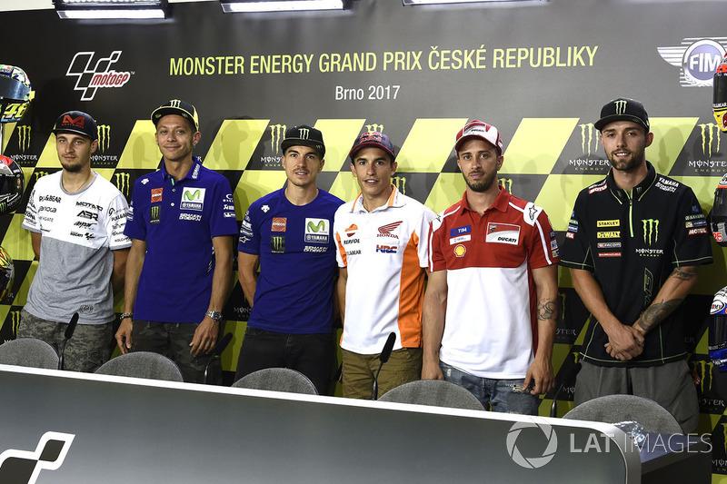 Карел Абрахам, Aspar Racing Team, Валентино Россі, Yamaha Factory Racing, Маверік Віньялес, Yamaha F